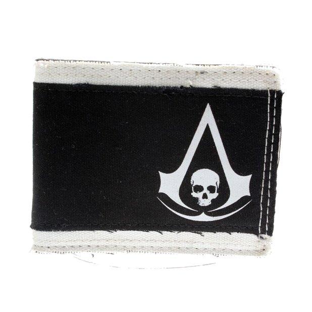 Peněženka Assassins Creed - Black Flag logo