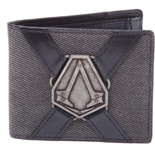 Peněženka Assassin's Creed Syndicate s kovovým logem