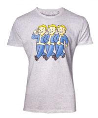 Tričko Fallout – Three Vault Boys