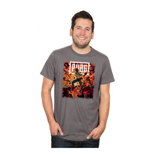 Tričko PUBG - Boom
